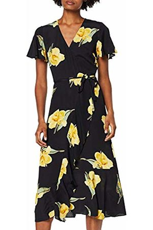 warehouse Women's Katy Floral Midi Dress, ( Print 76)