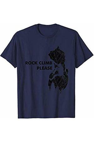 Wall Climbing Apparel Wall climbing belaying climbers sport Rock Climb Please T-Shirt