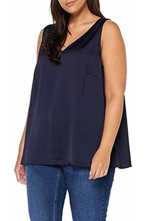 Zizzi Women's Top Vest, (Dark 1496)
