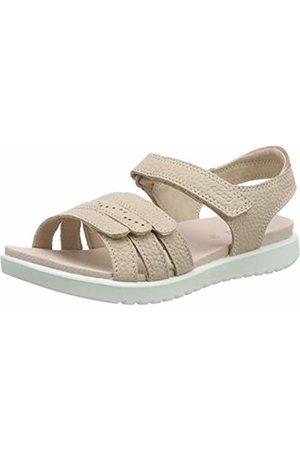 Ecco Girls' Flora Open Toe Sandals (Rose Dust 1118) 2.5 UK