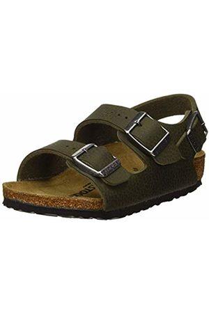 Birkenstock Boys' Milano Sling Back Sandals Desert Soil