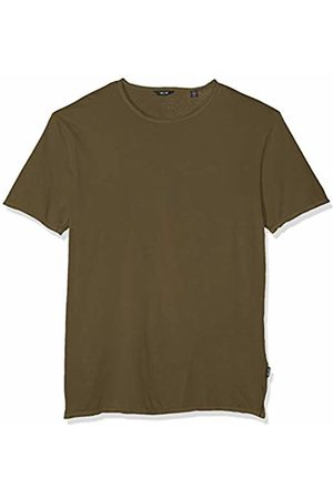 Only & Sons NOS Men's onsALBERT Washed O-Neck NOOS T-Shirt, Grün Olive Branch