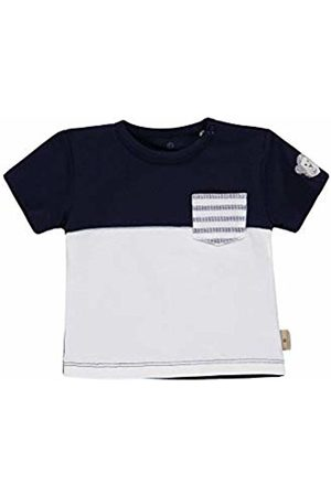 Bellybutton mother nature & me Baby Boys' T-Shirt 1/4 Arm Navy Blazer| 3105