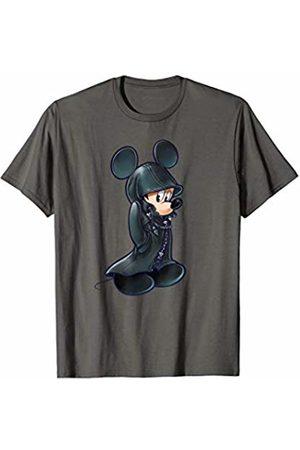 Disney Kingdom Hearts King Mickey Black Coat T-Shirt