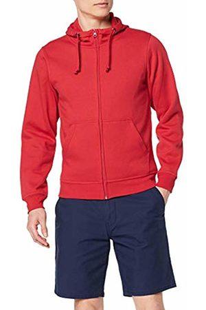 CLIQUE Men's Basic Full Zip Hoody Regular Fit Plain Hooded Long Sleeve Hoodie
