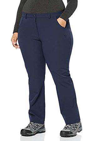 Ulla Popken Women's Plus Size Nylon Stretch Comfort Pants Navy 34 708725 77-60