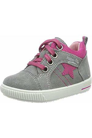 Superfit Baby Girls' Moppy Low-Top Sneakers (Hellgrau/Rosa 26) 7.5 UK
