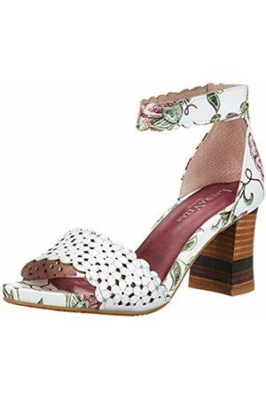 LAURA VITA Women's Ceclesteo 41 Open Toe Sandals, Blanc