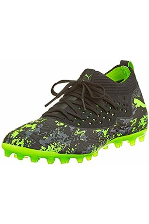 Puma Men's's Future 19.2 Netfit MG Footbal Shoes -Charcoal Gray- Gecko 9.5 UK
