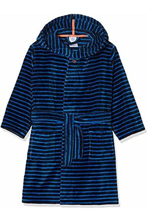 Sanetta Boys' Bathrobe Dressing Gown, ( Navy 50151.0)