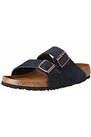 Birkenstock Men's Arizona SFB Open Toe Sandals, Navy