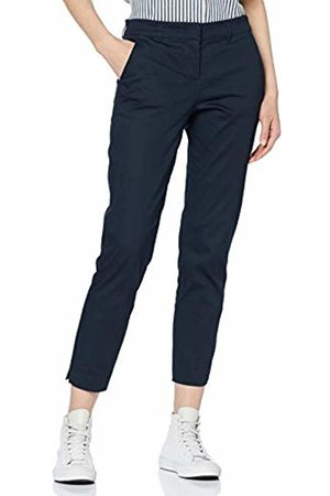 Tom Tailor Women's Hose mit Stretch Trousers Blau (Real Navy 10360) 18