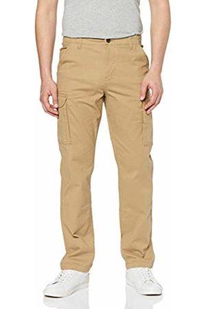 MERAKI Men's Stretch Slim Fit Cargo Trousers