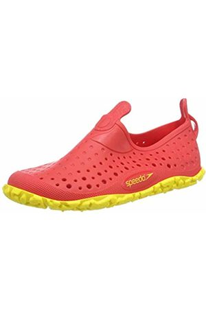 Speedo Unisex Kids' Jelly Junior Water Shoes, (Lava /Empire 000)