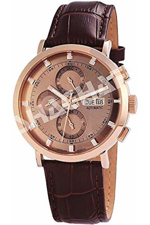 Engelhardt Men's Analogue Mechanical Watch with Leather Strap 3.88232E+11