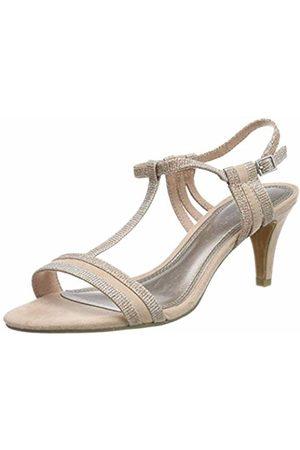 Women's 2 2 28365 32 Ankle Strap Sandals, (Rose Metallic 592)