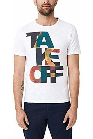 s.Oliver Men's 13.904.32.4979 T-Shirt, ( 0100)