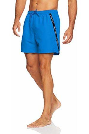 Calvin Klein Men's Medium Drawstring Swim Trunks, (Imperial 412)