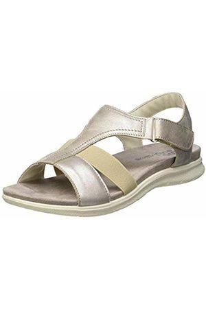 TBS Women's Martina Open Toe Sandals (Acier Metalise Z7351) 8 UK