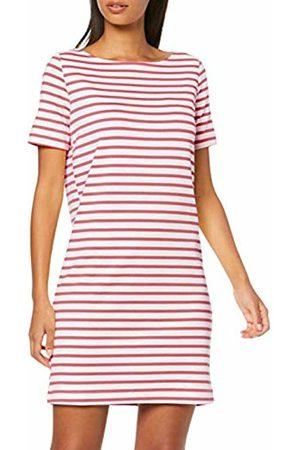 Pieces NOS Women's PCINGRID SS Dress NOOS Mehrfarbig (Bright Stripes: Malaga)