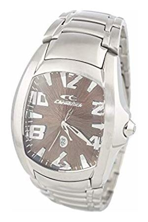 ChronoTech Men's Analogue Quartz Watch with Stainless Steel Strap CT7988M-65M