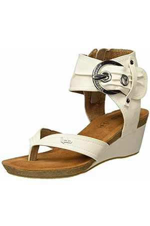 Les P'tites Bombes Women's Naia Open Toe Sandals (Blanc 003) 6/6.5 UK