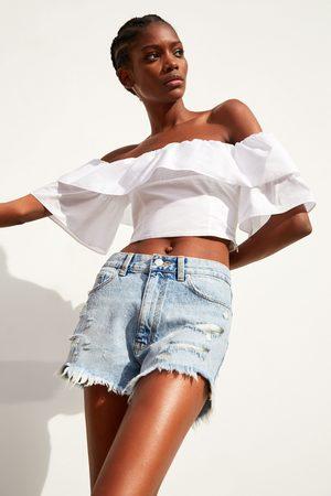 e6b89901f4 Zara hi-cut women's capris & shorts, compare prices and buy online