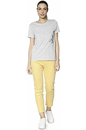 Only Women's onlEMILY HW Straight Coloured DNM Jeans Gelb Yolk