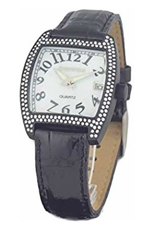 ChronoTech Womens Analogue Quartz Watch with Leather Strap CT7435L-02