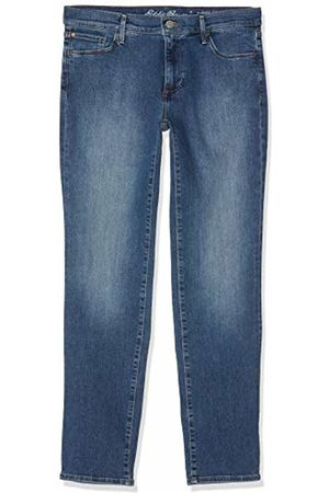 Eddie Bauer Women's Elysian Jeans - Slim Straight Leg - Slightly Curvy Brilliant 395