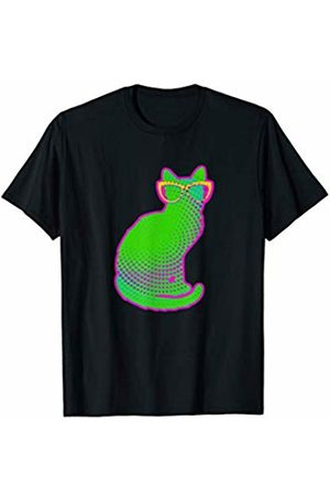 Designs by Alondra Cute Cat with Glasses T-Shirt