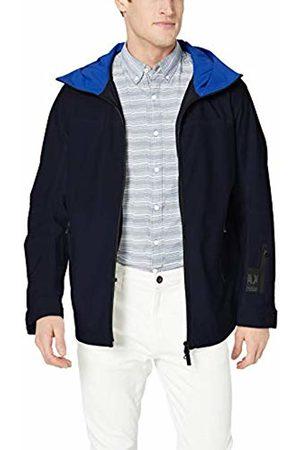 Armani Men's Multi Zip Pocket Coat
