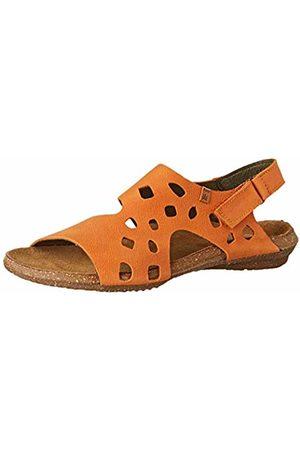 El Naturalista Women's N5061 Pleasant Carrot/Wakataua Open Toe Sandals 4 UK