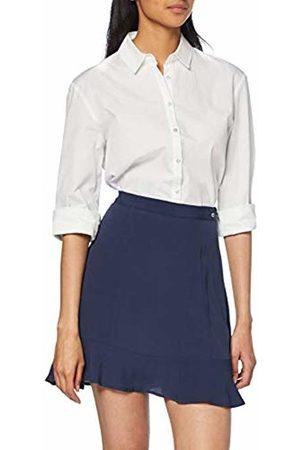 Tommy Hilfiger Women's TJW Frill Hem Detail Skirt ( Iris 002) XL