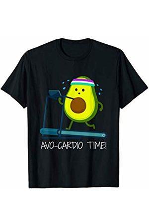 More Funny Avocado Shirt Designs & Gifts It's AVO-CARDIO Pajamas Time! Fitness Avocado T-Shirt