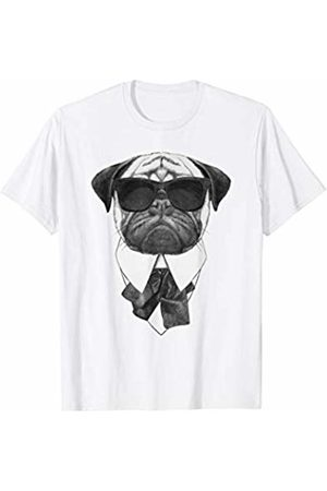 Easter Basket Stuffers - Funny Gift Shop Pug in a Suit and Bow Tie T-Shirt for Dog Lovers T-Shirt