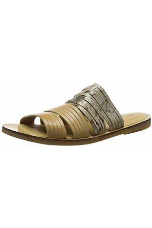 El Naturalista Women's N5183 Vaquetilla-Fantasy Taupe/Tulip Open Toe Sandals