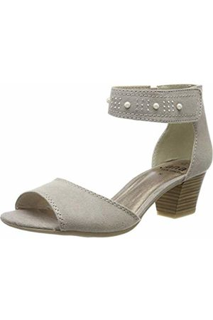 Jana Women's 8-8-28321-22 Ankle Strap Sandals (Lt. Taupe 347) 6 UK