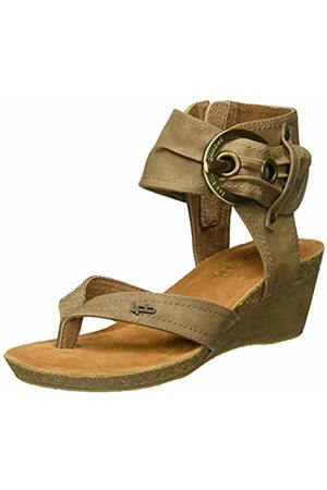 Les P'tites Bombes Women's Naia Open Toe Sandals (Taupe 031) 5/5.5 UK