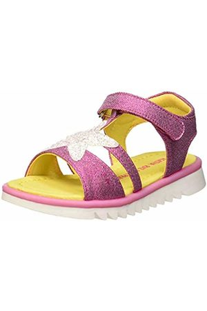 Agatha Ruiz de la Prada Girls' 192966 T-Bar Sandals (Fucsia (Mat Laminado) Paprika) 7 UK