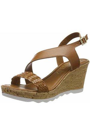 s.Oliver Women's 5-5-28321-32 Platform Sandals