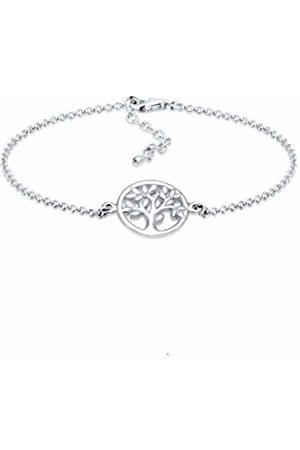 Elli Women's 925 Sterling Coin Tree of Life Bracelet - 16cm length