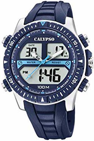 Calypso watches Mens Analogue-Digital Quartz Watch with Plastic Strap K5773/2