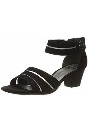 Jana Women's 8-8-28311-22 Ankle Strap Sandals, ( 001)