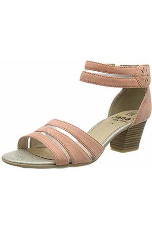 Jana Women's 8-8-28311-22 Ankle Strap Sandals