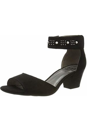 Jana Women's 8-8-28321-22 Ankle Strap Sandals, ( 001)