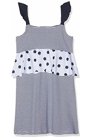 Brums Girl's Prendisole Jersey Stretch Con Righe E Pois Dress Not Applicable