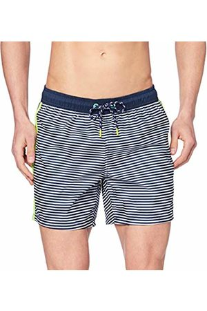 Esprit Men Swim Shorts - Men's Green Bay Woven Shorts Swim Trunks