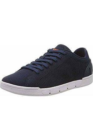 Swims Women Breeze Tennis Knit Low-Top Sneakers (Navy 002) 4 UK