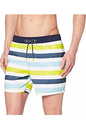 ESPRIT Men's Tobago Bay Woven Shorts Swim Trunks, Bright 740